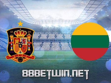 Soi kèo nhà cái M88, nhận định Tây Ban Nha vs Lithuania – 01h45 – 09/06/2021