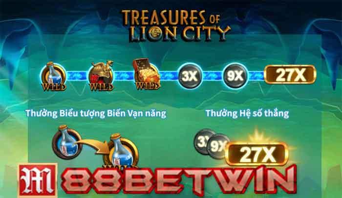 Treasures of Lion City Slot Tại M88