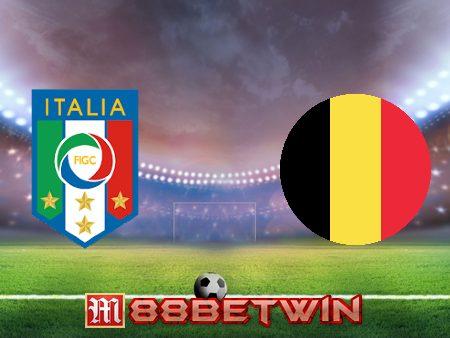 Soi kèo nhà cái M88, nhận định Italy vs Bỉ – 20h00 – 10/10/2021